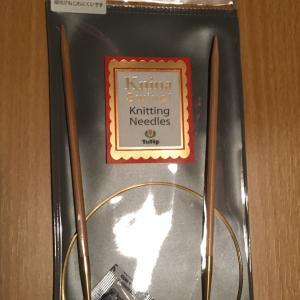 編み物教室 チューリップの輪針