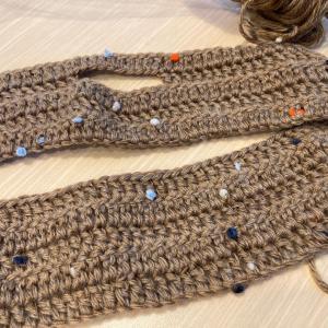 編み物教室 秋物マフラーを編みましょう
