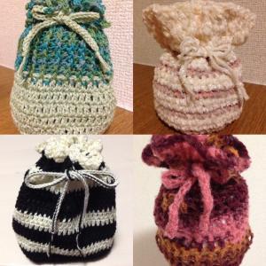 編み物教室 かぎ針編みオリジナルポーチを編みましょう