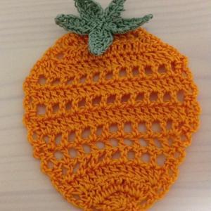 編み物教室 かぎ針編みで果物を編みましょう