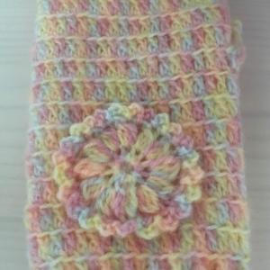 編み物教室 かぎ針で編む、ハンドウォーマー