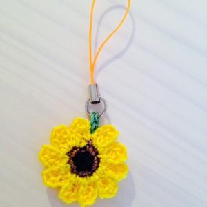 編み物教室 夏のお花「ひまわり」を編みましょう