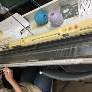 編物検定協会勉強会 機械編み助手