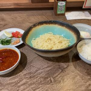 今度はヒンヤリンコな『辣の海』にダイブ~! I♡京都拉麺885「汁なし担々麺 ラアノウミ 9」