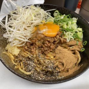 ヒンヤリンコで冷たいのん!の次は初のまっぜまぜ~! I♡京都拉麺908「あかつき 16」
