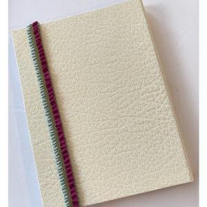レッスン作品・カードケース、リンネル by リノス、果実のマルチカバー