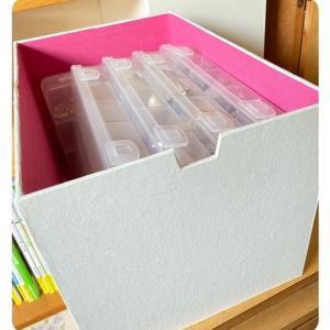 パーツケースを収納する箱を作りました♪♪