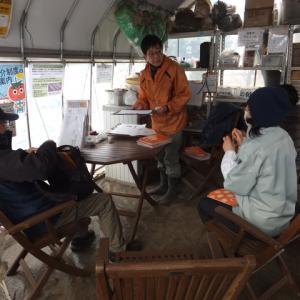 シェア畑深大寺 【年明け後のお世話(追肥など)/春野菜土づくり】 講習会が開かれました。