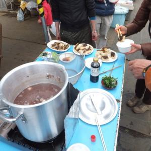 シェア畑深大寺 「おしるこ」イベントが開催されました。