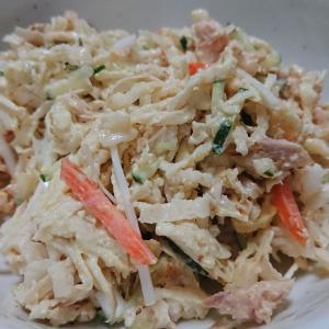 「切り干し大根とツナのサラダ」今日のもう一品!簡単すぎる乾物レシピ