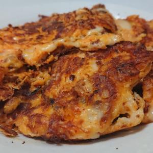 ◎今日の納豆料理64「納豆キムチチーズ焼き」