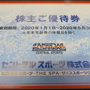 4801セントラルスポーツさんより頂きました優待です。