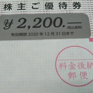 4679田谷さんより頂きました優待です。