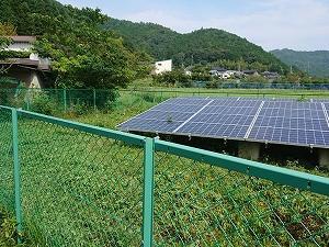 野山発電所①②の草刈りをして頂きました。