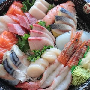 もうここで決まり。Take Outの寿司、刺身!このクオリティーでこの値段?!