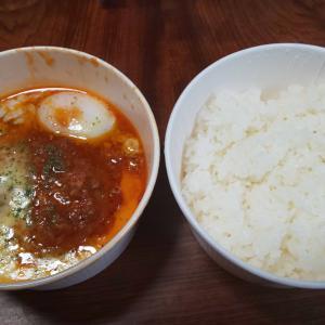 松屋のうまトマチーズハンバーグ丼(・∀・)ノ