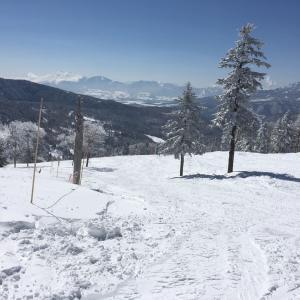 万座にスキーに行ってきました