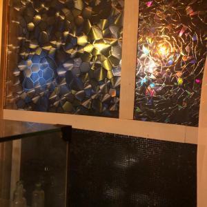 セリア、ダイソーのガラスシートで、窓DIY