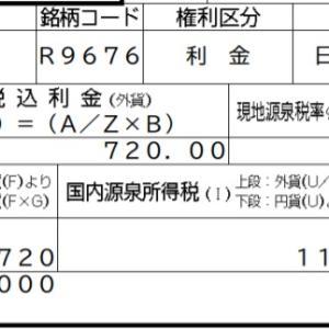 【配当金】第37回SBI債 無事償還を迎えました。