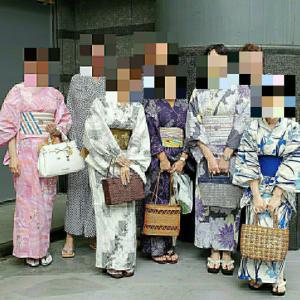 松戸の名店・天廣堂さんで浴衣でランチ会開催しました