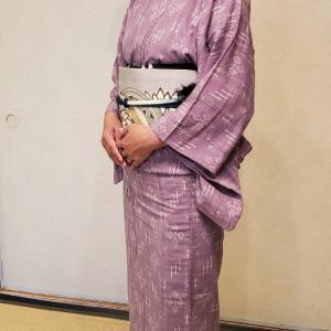 三味線のお稽古に袴を着て通いたい!素敵な目標をお持ちの生徒さんです♪
