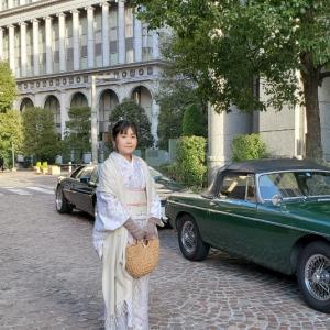 イタリア旅行紀?!楽しいワクワクする着物散歩♪