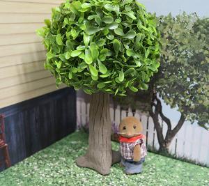 シルバニアサイズのなんちゃっての木を作る