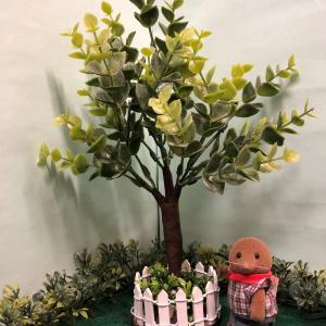 シルバニアサイズのなんちゃっての木を作る(ユーカリ編)