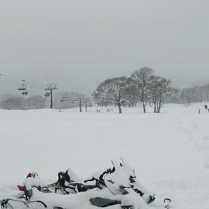 黒姫スキー場へ(2月9日・日曜日)