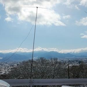 6m AM QRP無線機交信に(2月12日・水曜日)
