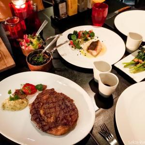 トンローのマリオットホテル内のステーキハウス【The District Grill Room & Bar】で豪華なディナーを[PR]