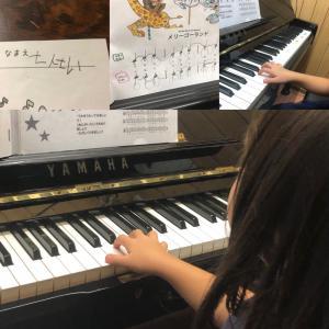 年長さんピアノレッスン