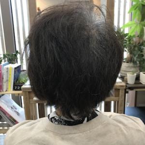 髪が伸びるとボサッと広がる