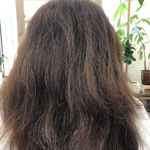 理想通りの縮毛矯正になったのは初めて!