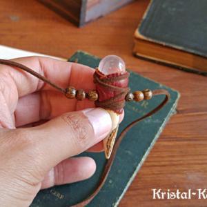 小さな魔法の杖のペンダント