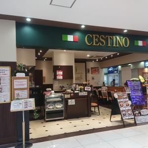 チェスティーノ デリスクエア今池店の鉄板チーズ焼きパスタセット