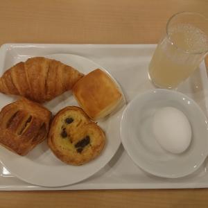 富山のビジネスホテルの朝食事情