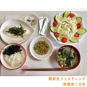 糖新生ファスティング・準備食1日目