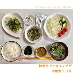 糖新生ファスティング・準備食2日目