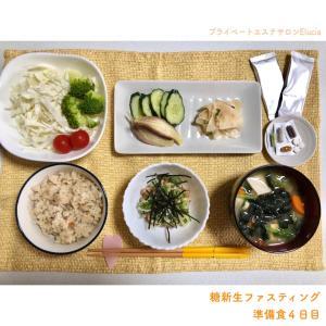 糖新生ファスティング準備食4~6日目