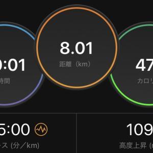 久々のインターバルトレ&2日連続の30kmジョグ