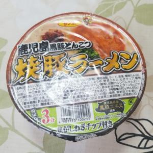 鹿児島黒豚とんこつ焼豚ラーメン‼️