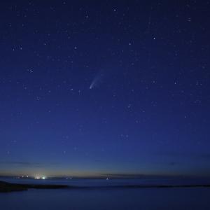 ネオワイズ彗星‼️