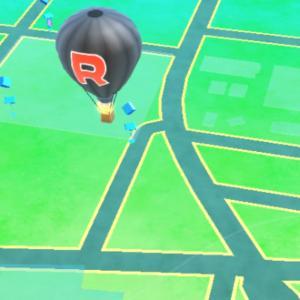 気球来た!