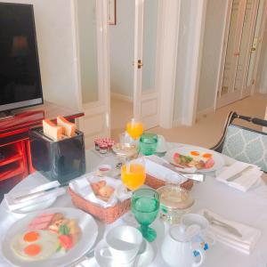 ホテルで朝食を☆