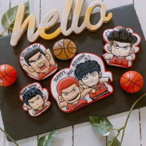 お誕生日ケーキはバスケットボールケーキでお祝い‼️