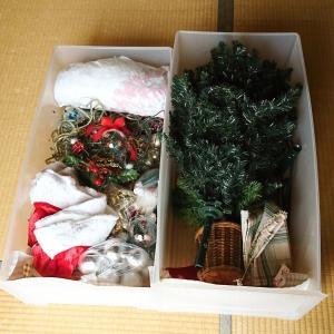 ++クリスマス雑貨の断捨離と整理整頓*++