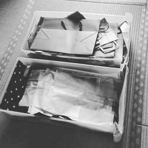 ++紙袋類の断捨離*++