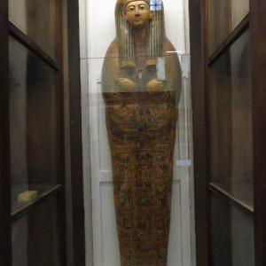 エジプト考古学博物館~アンクエフエンムート?とアモンホテプ1世の棺~