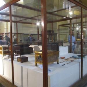 エジプト考古学博物館~ツタンカーメンの箱類~